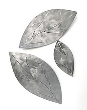 Shadow Leaves by Marsh Scott (Metal Wall Sculpture)