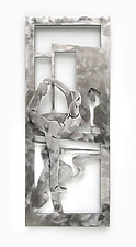 Young Dancer II by Marsh Scott (Metal Wall Sculpture)