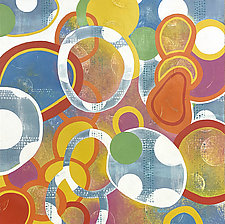 Apparent Links by Lisa Kesler (Acrylic Painting)