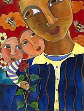 Bring Back the Bees by Katharina Magdalena Short (Giclée Print)