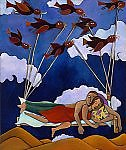 Clouds Rest by Katharina Magdalena Short (Giclee Print)
