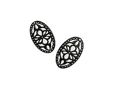 Overlay Earrings by Ashley Buchanan (Brass Earrings)