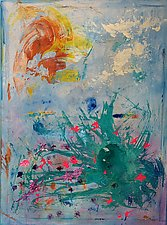 Spring Flowers by Pamela Acheson Myers (Acrylic Painting)