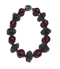Alhambra Necklace by Kathy King (Beaded Necklace)