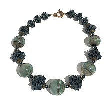 Otherworldly Mists by Kathy King (Beaded Necklace)