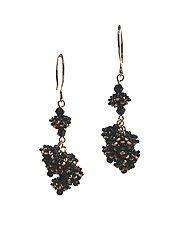 Cluster Earrings by Kathy King (Beaded Earrings)