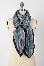 Pani Chandani Scarf by Janice Kissinger  (Silk & Wool Wrap)