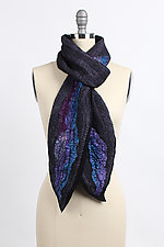Kali River Scarf by Janice Kissinger  (Silk & Wool Scarf)