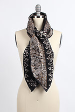 Layla Scarf by Janice Kissinger (Silk & Wool Scarf)