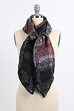 Anu Scarf by Janice Kissinger  (Silk & Wool Scarf)