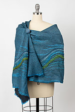 Chandani Wrap by Janice Kissinger  (Silk & Wool Wrap)