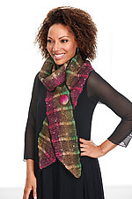 Ajani Scarf by Janice Kissinger  (Silk & Wool Scarf)