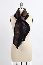 Afshaan Scarf by Janice Kissinger  (Silk & Wool Scarf)