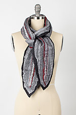 Laal Chandani Scarf by Janice Kissinger  (Silk & Wool Wrap)