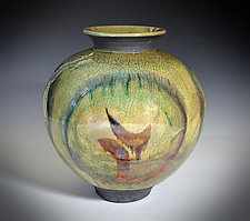 Ancient One by Tom Neugebauer (Ceramic Vessel)