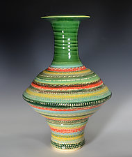Fiesta Vase II by Tom Neugebauer (Ceramic Vase)