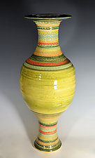 Fiesta Vase III by Tom Neugebauer (Ceramic Vase)