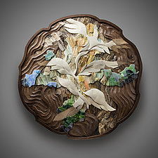 Dream Tapestry by Aaron Laux (Wood Wall Sculpture)