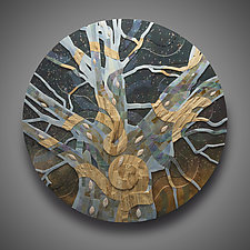 The View From Above by Aaron Laux (Wood Wall Sculpture)