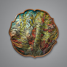 The Witness by Aaron Laux (Wood Wall Sculpture)