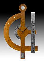 Celebration Centerpiece Clock by Evy Rogers and Joe  Jacob (Wood Clock)