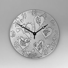 Nature Lover by Evy Rogers (Metal Clock)