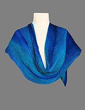 Silk Shibori Shawl by Min Chiu  and Sharon Wang (Silk Shawl)