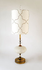 Classico Nuevo by Mollie Woods (Mixed-Media Table Lamp)