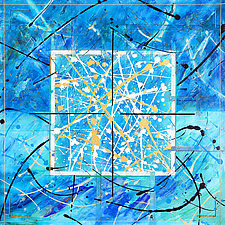 Constellation by Betty Green (Mixed-Media Painting)