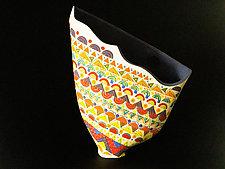 Sunlit Lavender by Jean Elton (Ceramic Vase)
