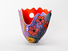 Exuberance! by Jean Elton (Ceramic Vase)