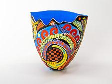 Ferris Wheel by Jean Elton (Ceramic Vase)