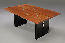 Table of Sines and Cosines by Carol Jackson (Wood Coffee Table)