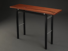 Moonrise by Carol Jackson (Wood Console Table)