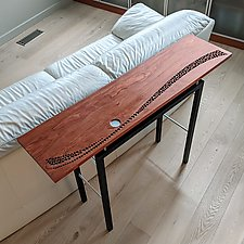 Moonrise by Carol Jackson (Wood Console Table)
