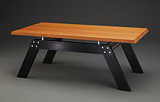 Parallelograms by Carol Jackson (Wood Coffee Table)