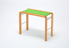 CURVEiture Tall Side Table by Carol Jackson (Wood Side Table)