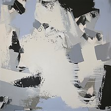 Nights in White Satin I by Jan Jahnke (Acrylic Painting)