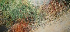 Summer Song II by Jan Jahnke (Mixed-Media Painting)
