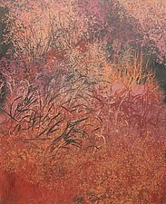 Autumn Bliss by Jan Jahnke (Mixed-Media Painting)