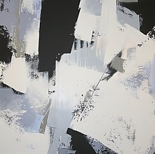 Nights in White Satin III by Jan Jahnke (Acrylic Painting)