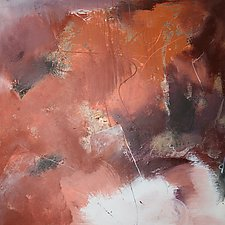 Look on the Bright Side by Jan Jahnke (Mixed-Media Painting)