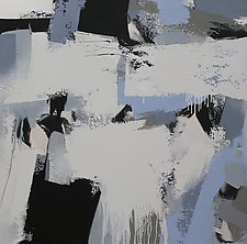 Nights in White Satin II by Jan Jahnke (Acrylic Painting)