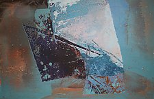 Blue Lake/Worn and Weathered Dignity by Jan Jahnke (Serigraph Print)