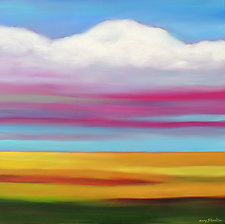 A Plains Day by Mary Johnston (Oil Painting)