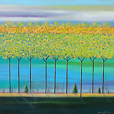 Spring 2020 by Mary Johnston (Oil Painting)