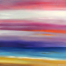 Pink in the Sky by Mary Johnston (Oil Painting)