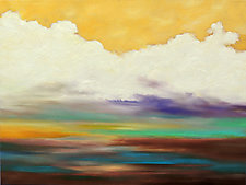Yellow in the Sky by Mary Johnston (Oil Painting)
