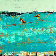Birds on a Blue Horizon by Janice Sugg (Giclee Print)