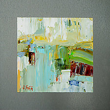 View of Blue by Janice Sugg (Oil Painting)